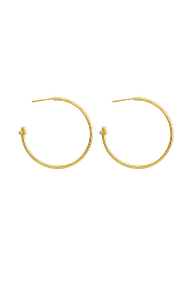 Temple St. Clair - Yellow Gold Hoop Earrings