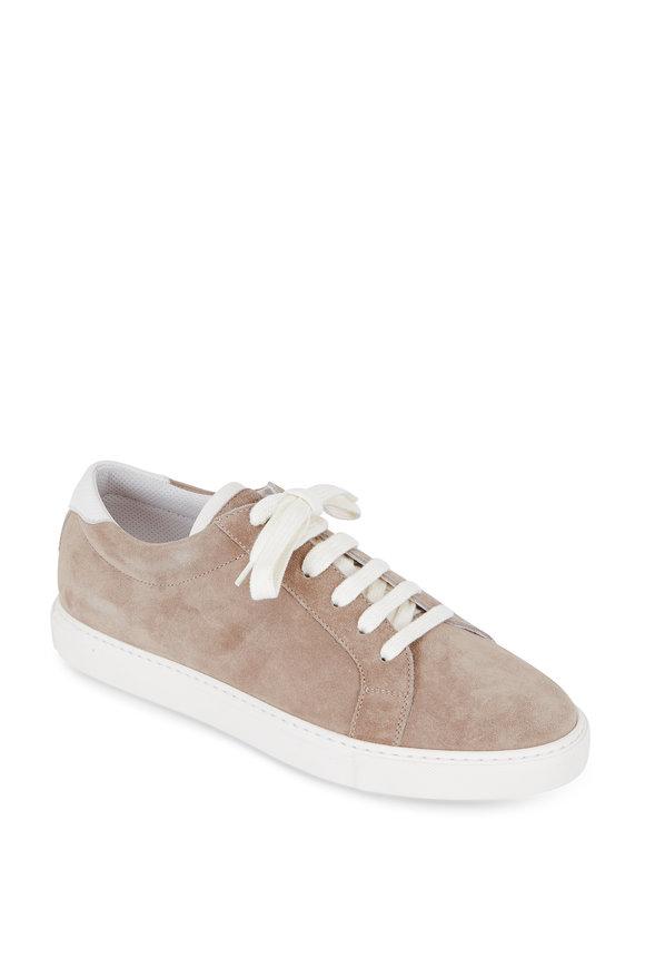 Brunello Cucinelli Light Brown Suede Sneaker