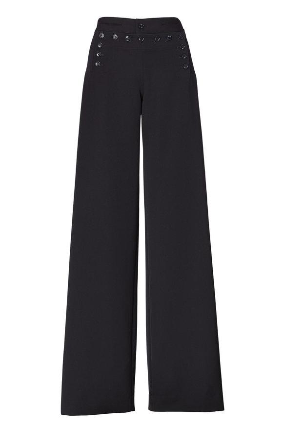 Ralph Lauren Midnight Blue Wool Sailor Pant