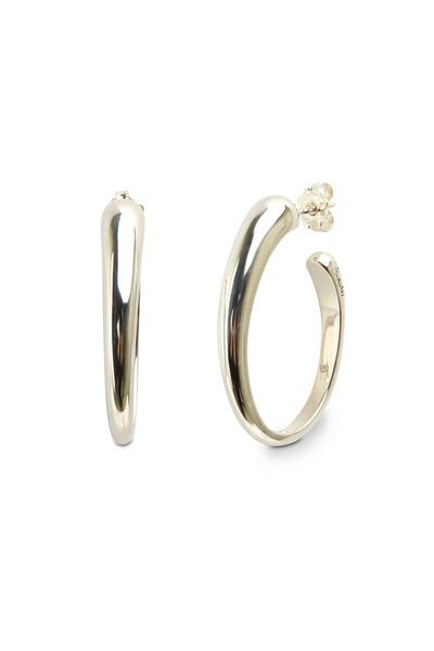 Pomellato - Sterling Silver Hoop Earrings