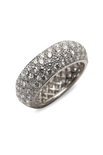 Oscar Heyman - Platinum White Diamond Ring