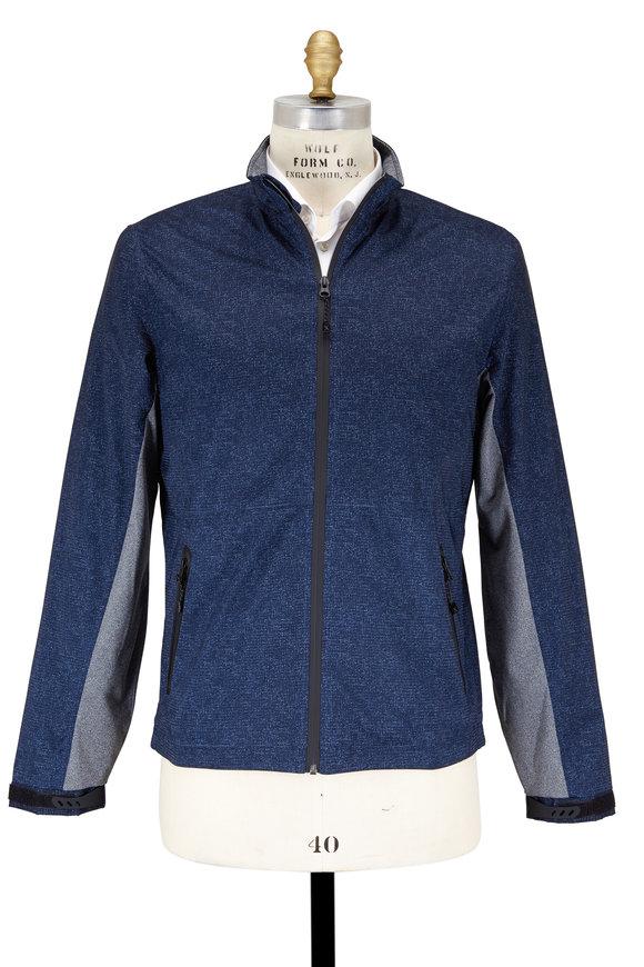 Robert Graham Alendale Navy Blue Performance Jacket