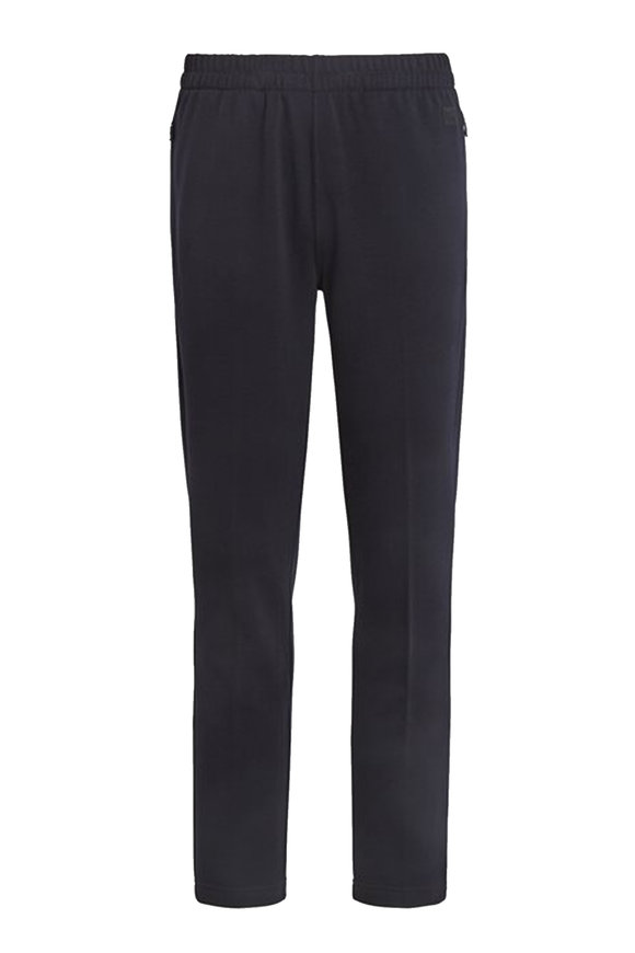 Z Zegna Navy Blue Techmerino Wool Jogger