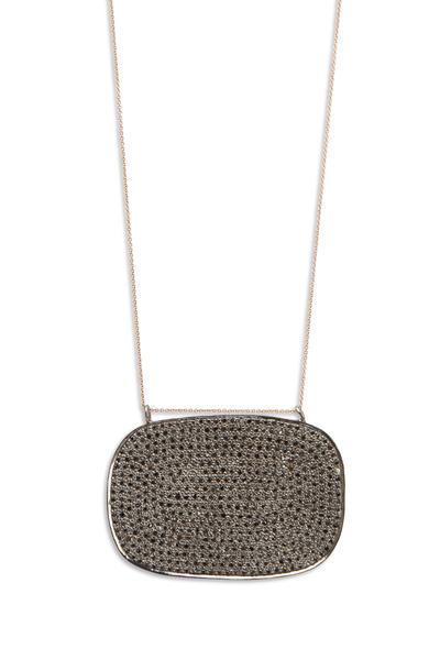 Tulah Jem - Rose Gold Black Diamond Pendant
