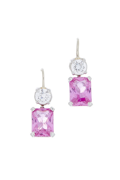 Oscar Heyman - Gold Sapphire & Diamond Earrings