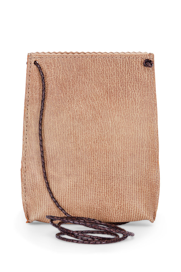 B May Bags Desert French Goat Cell Pouch