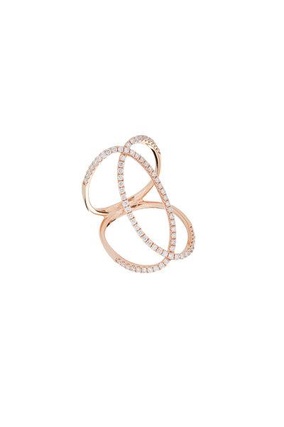 Kathleen Dughi - Rose Gold Fancy Ring