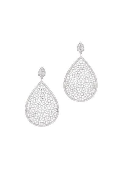 Kathleen Dughi - Diamond Drop Dangle Earring