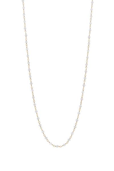Caroline Ellen - 20K Yellow Gold Gray Diamond Wrap Necklace