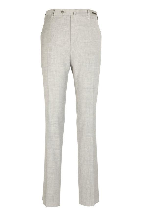 PT01 Light Gray Slim Fit Summer Traveller Trouser