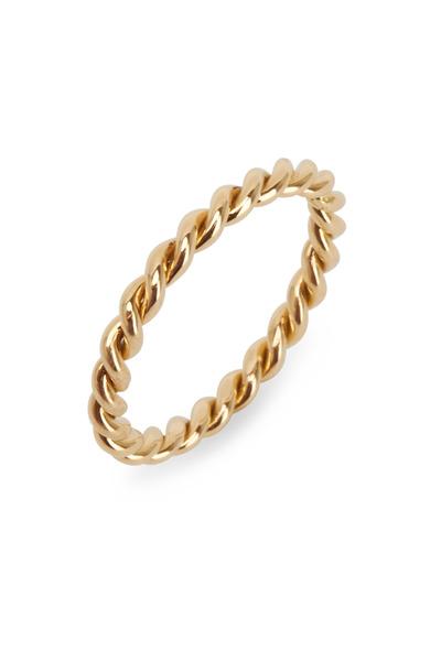 Oscar Heyman - Yellow Gold Twist Ring