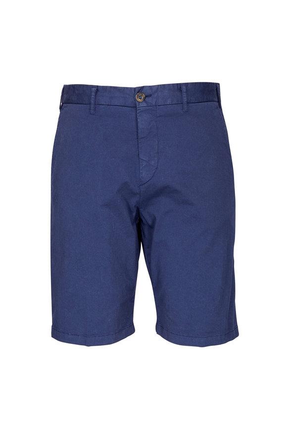 JW Brine Chriss Blue Stretch Twill Short
