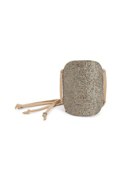 Tulah Jem - Champagne Diamond Suede Bracelet