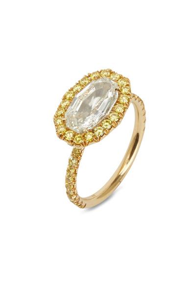 Eclat - Yellow Gold Fancy Diamond Ring