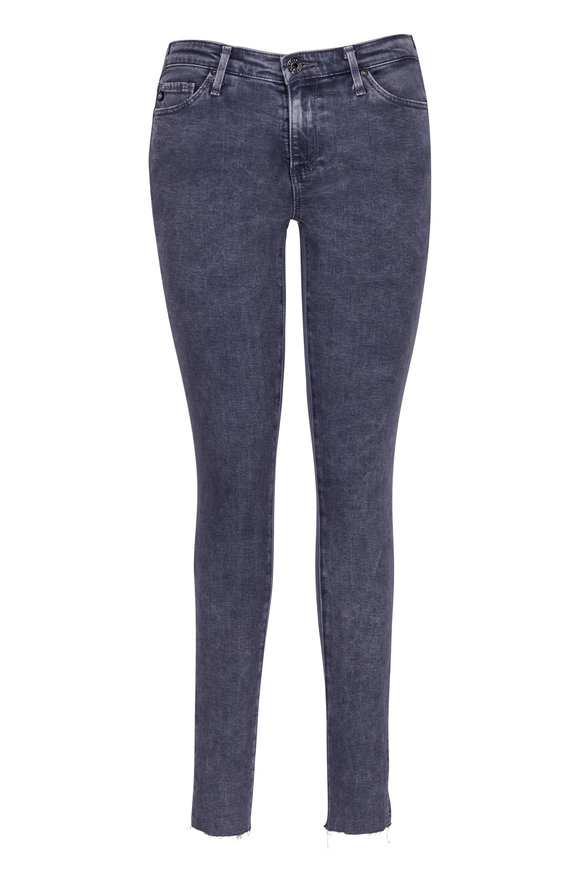 AG - Adriano Goldschmied The Middi Coal Grey Ankle Jean