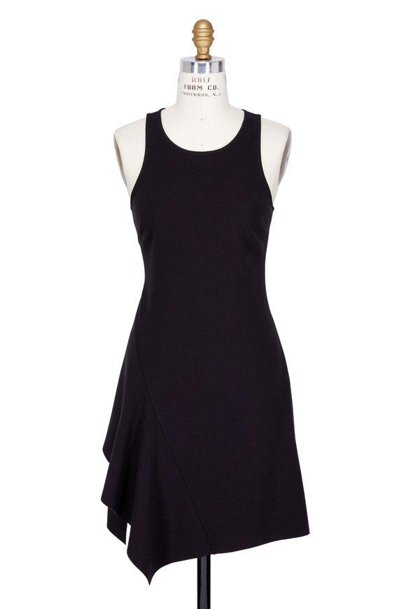 Elizabeth & James Hattie Black Racerback Sleeveless Dress