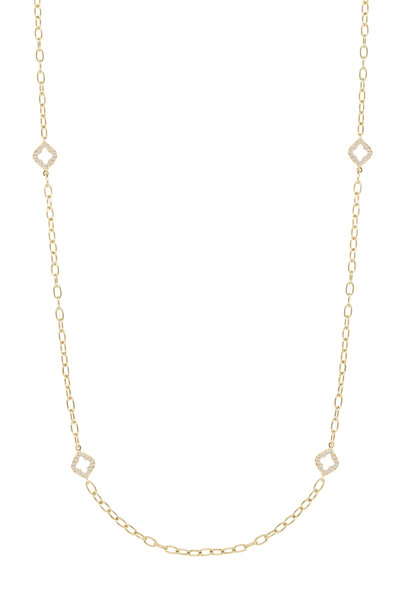 Sutra - 18K Yellow Gold Diamond Chain