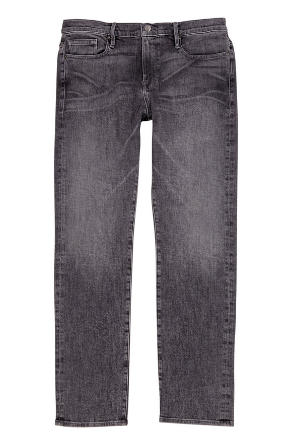 Frame L'Homme Straight Mid-Rise Jean
