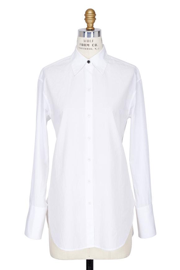 Rag & Bone Essex White Poplin Shirt