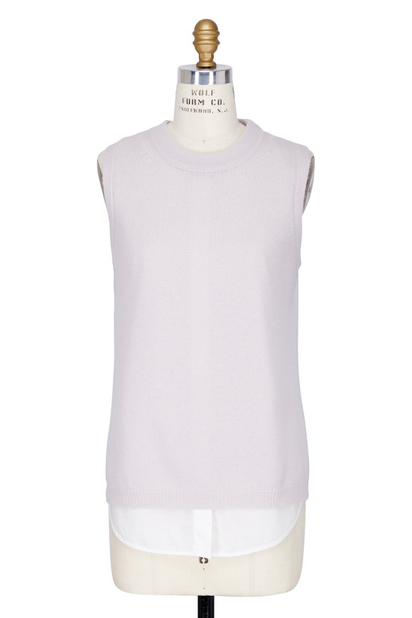 Brochu Walker Asa Looker Blush Poplin Tank