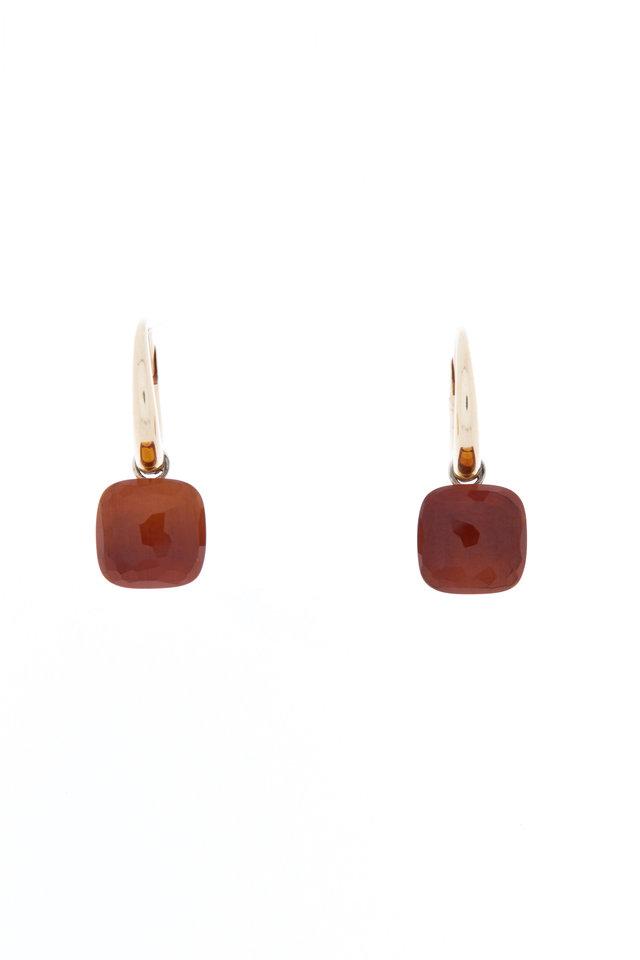 Nudo 18K Rose Gold Madiera Quartz Drop Earrings