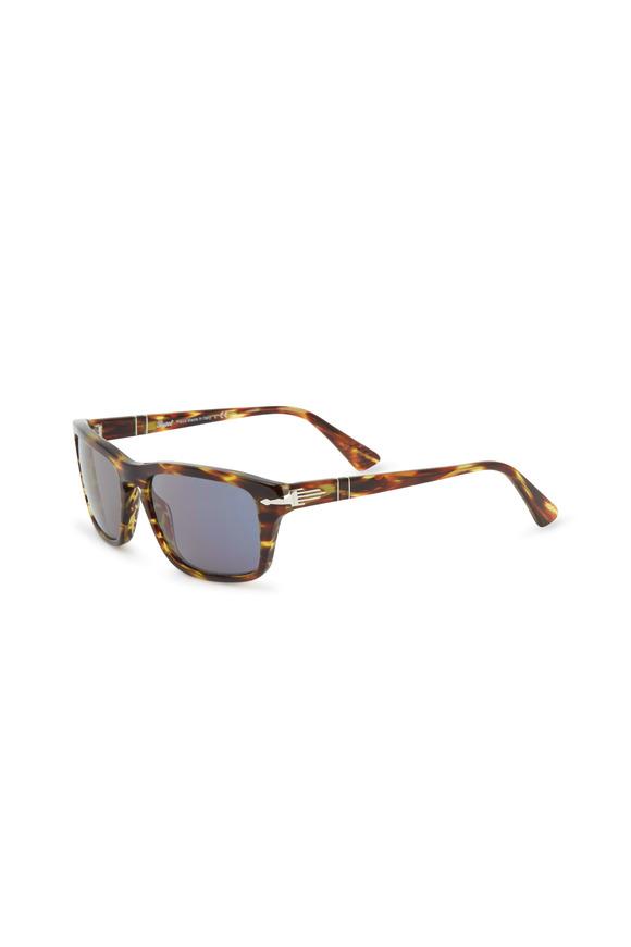 Persol Green Lace Rectangle Suprema Sunglasses