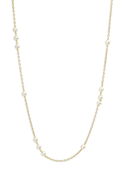 Caroline Ellen - Yellow Gold Pearl Necklace