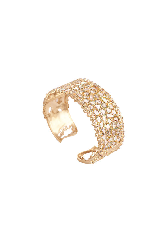 Coomi 20K Yellow Gold Diamond Eternity Bracelet