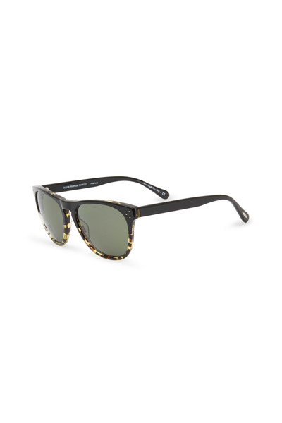 Oliver Peoples - Daddy B Black Polarized Sunglasses