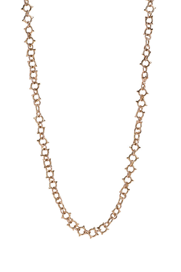 Genevieve Lau 14K Yellow Gold Sun Link Chain Necklace