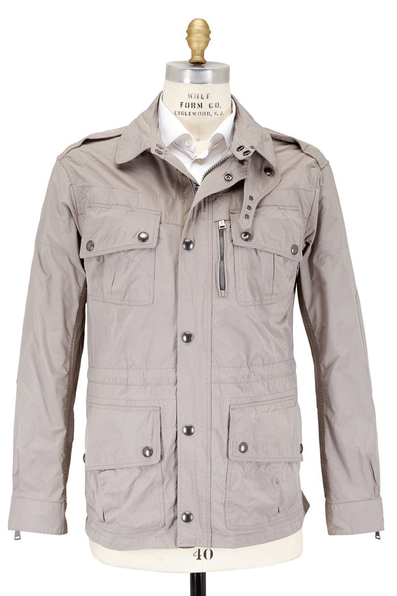 Polo Ralph Lauren Paratrooper Taupe Four Pocket Jacket