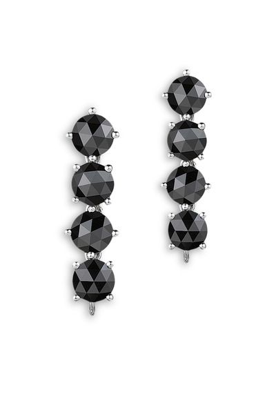 Paolo Costagli - White Gold Black Diamond Earrings