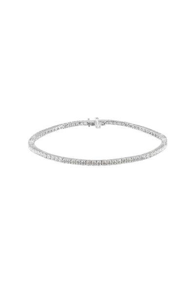 Nam Cho - 18K White Gold Diamond Bracelet
