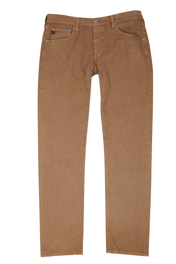 AG - Adriano Goldschmied Tellis Cafe Stretch Twill Modern Slim Pant