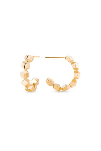 Paolo Costagli - Brillante Yellow Gold Hoop Earrings