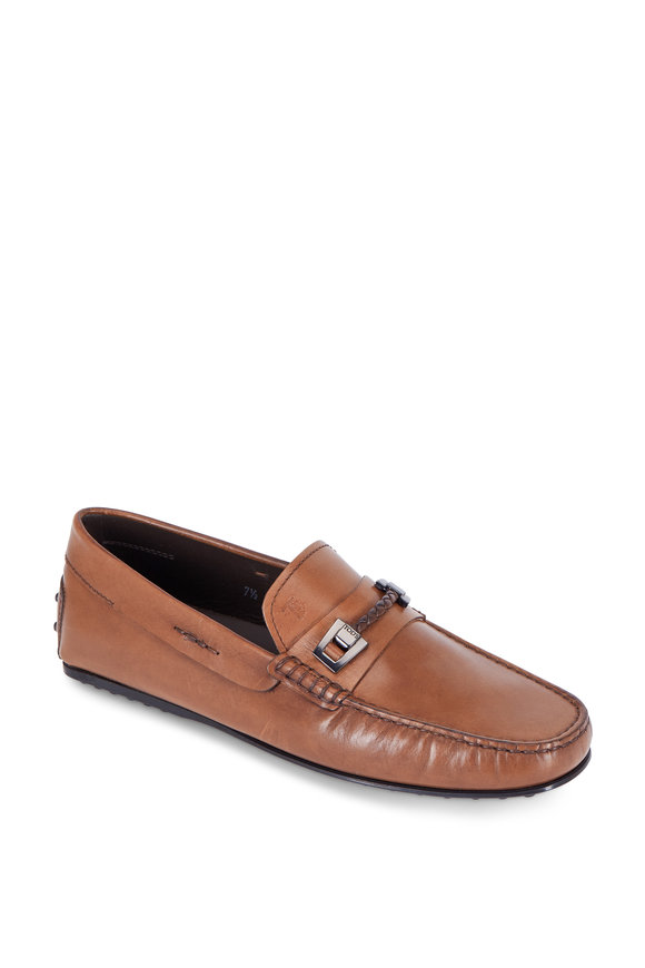 Tod's City Gommino Light Brown Bit Loafer