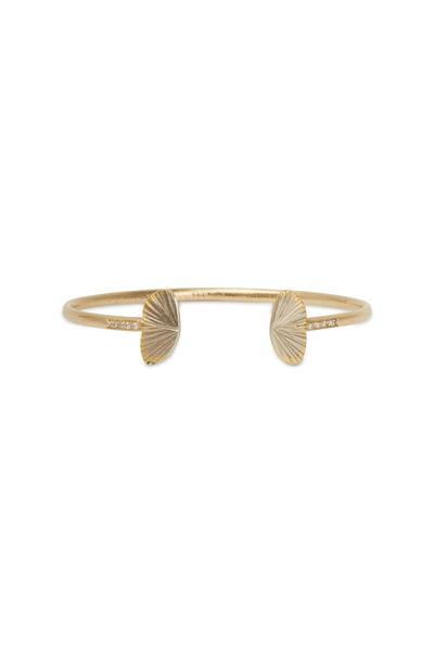 James Banks - Butterfly Pavé-Set Diamond Bangle Bracelet