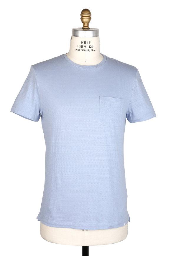 Orlebar Brown Sammy Light Blue Crewneck T-Shirt