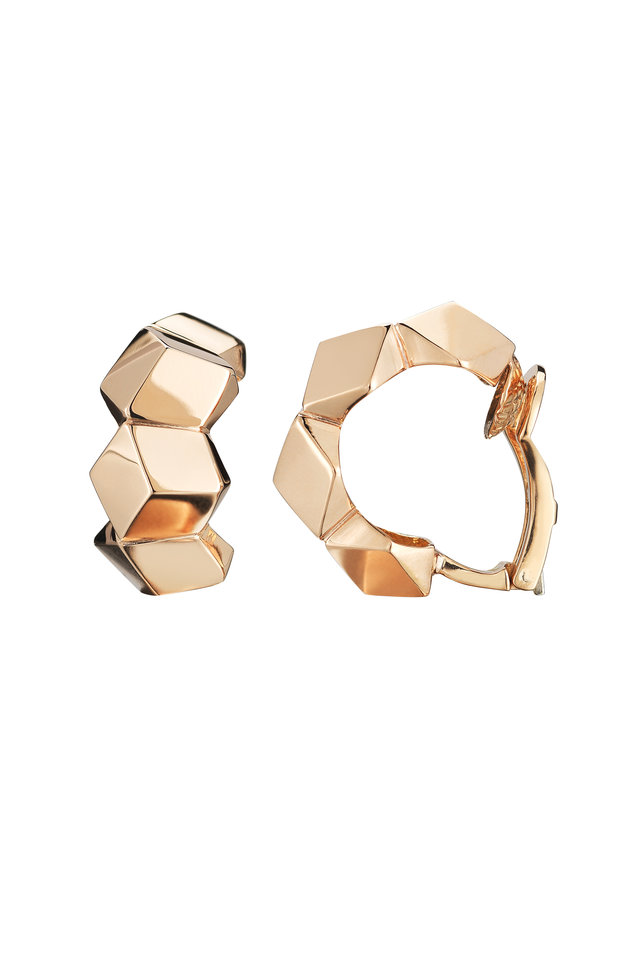 18K Rose Gold Brilliante Earrings