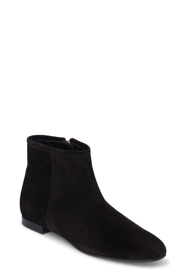 Mason Black Suede Ankle Boot