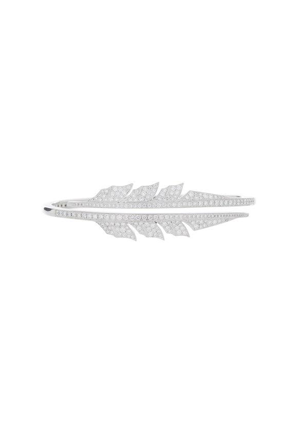 Stephen Webster 18K Gold Diamond Magnipheasant Feather Bracelet