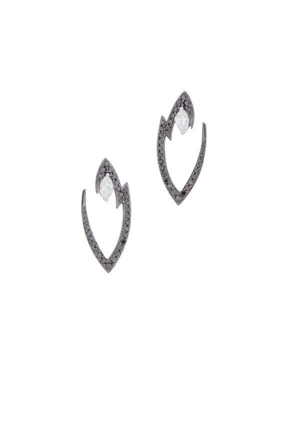 Stephen Webster White Gold Diamond Lady Stardust Earrings