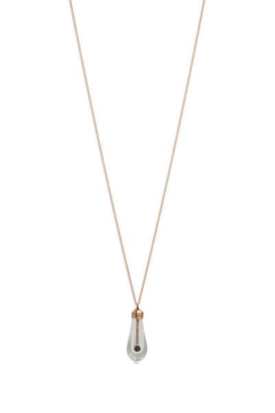 James Banks - Rose Gold Pavé-Set Diamond Lightkeeper Necklace
