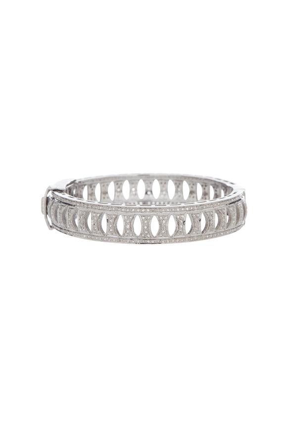 Dilara Saatci New Design Large Diamond Bangle