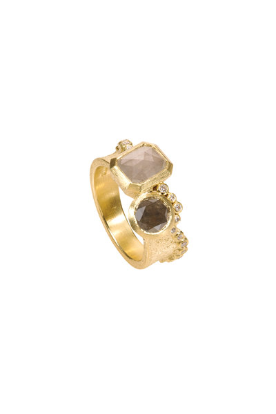 Todd Reed - 18K Yellow Gold Fancy Diamond Ring