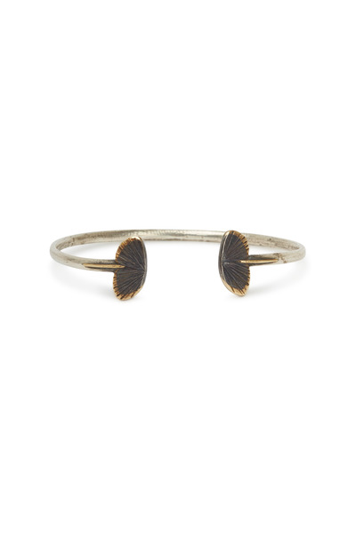 James Banks - Gold & Silver Small Asterope Bangle Bracelet
