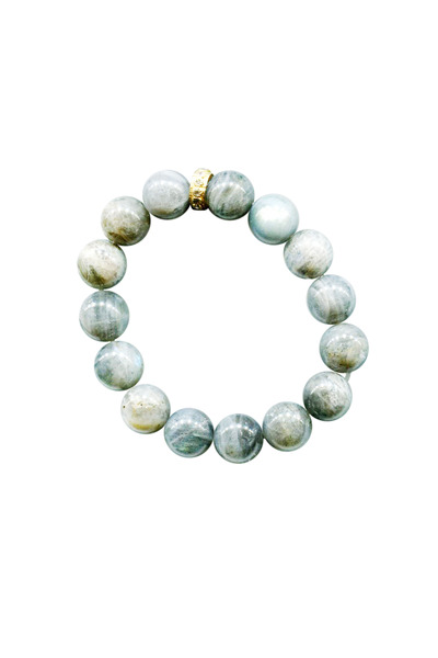 Coomi - Antiquity Yellow Gold Labradorite Bracelet