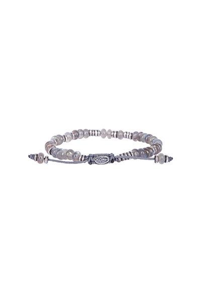 M. Cohen - Templar Disc Labradorite Gemstone Bracelet