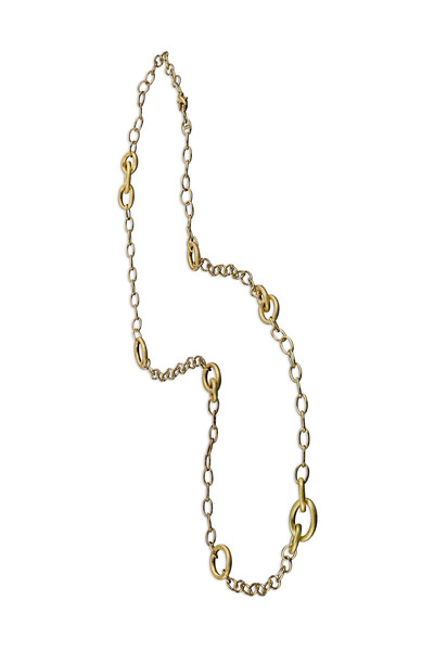 Aaron Henry - Yellow Gold Thirteen Embrace Link Necklace