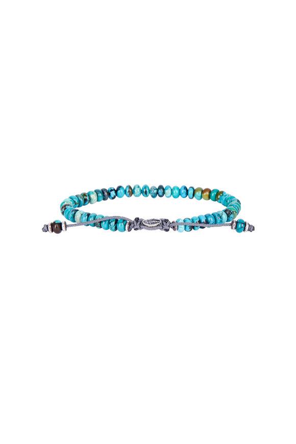 M. Cohen Turquoise Beaded Bracelet